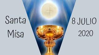 EN VIVO: Eucaristía del Miércoles 8 de Julio (2020/07/08)