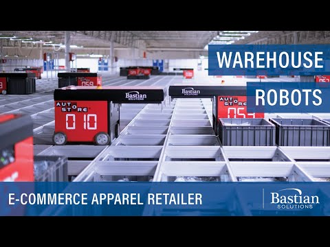 E-Commerce Retailer Doubles Warehouse Capacity with Robotic Goods to Person System