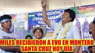HOMAR CLAROS PRESENTE EN EL AMPLIADO DEL MAS-IPSP. EN MONTERO SANTA CRUZ...