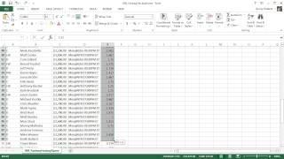 Microsoft Excel 2013 Tutorial - 4 - Formatting Numbers