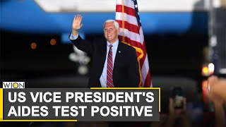 US Vice President Mike Pence hits campaign trail after staff test positive for COVID-19