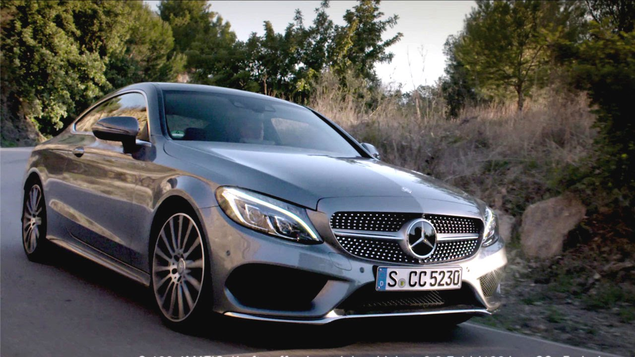 The new C-Class Coup. On a perfect mile - Mercedes-Benz original