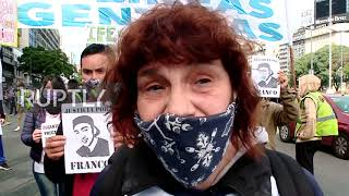 Argentina: Delivery workers protest over job security and working conditions in Buenos Aires