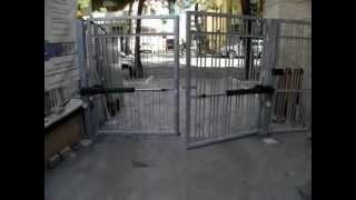 Kit Apricancello Due Ante.Dieffematic Automazione Cancello A 2 Ante Battenti Mod Linea
