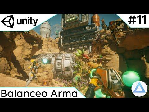 CREA un VIDEOJUEGO de DISPAROS en Unity Tutorial 2021🔫/Balanceo Arma/11-Capitulo