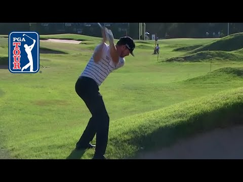 Jimmy Walker?s miraculous shot from awful lie at AT&T Byron Nelson