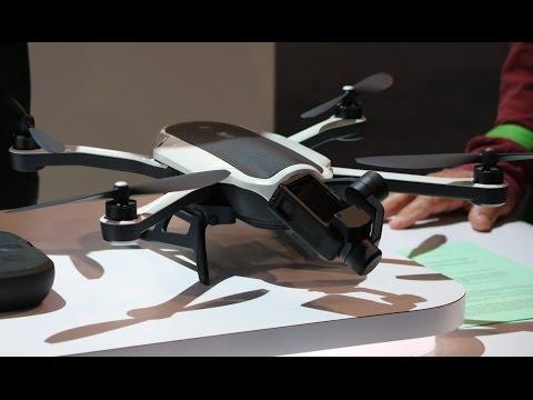 CES 2017 i Las Vegas: Her er GoPro-dronen Karma