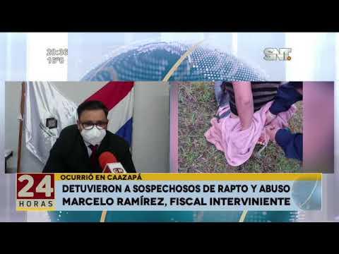 Detuvieron a sospechosos de rapto y abuso en Caazapá