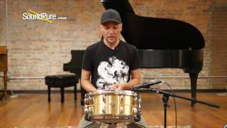 Gretsch 6.5x14 Bell Brass Snare Drum Quick n' Dirty