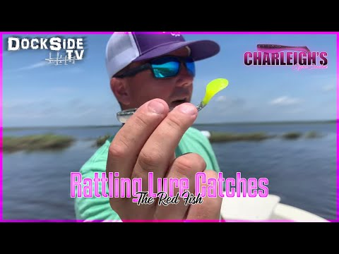 DockSide TV 'Rattling Lure Crushes the Red Fish'