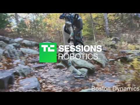 Exclusive footage of Boston Dynamics' Atlas robot   TC Sessions: Robotics