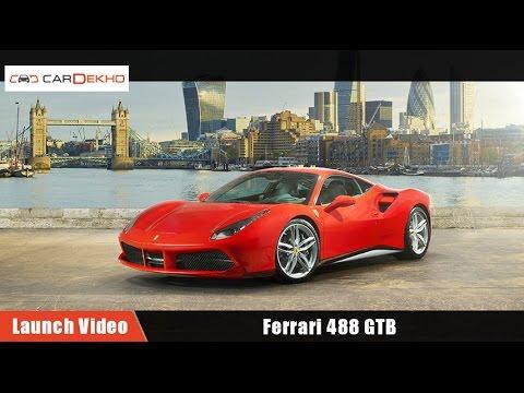 Ferrari 488 GTB | Launch Video | CarDekho.com