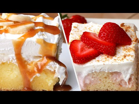 Poke Cake Recipes To Make On Your Birthday ? Tasty Recipes