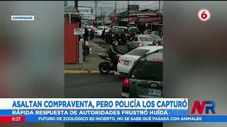Policía captura a dos asaltantes en Coronado