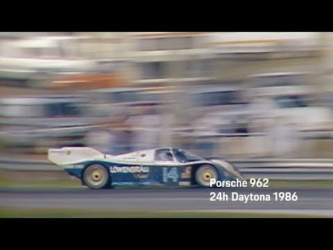 Porsche at the 24h of Daytona 2018 - Ready to defend our legacy: Porsche 962.