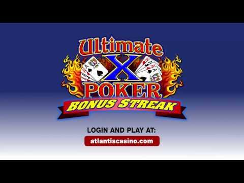 Ultimate X Bonus Streak Video Poker Contest - Atlantis Casino Resort Spa
