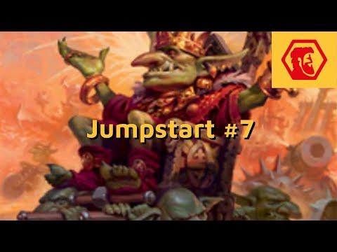 MTGA Jumpstart #7 - Goblins Dinossauros