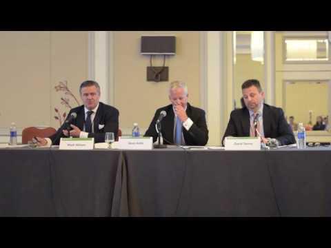 Matt Wilson, David Tanner and Dean Hollis: Buyouts East 2016