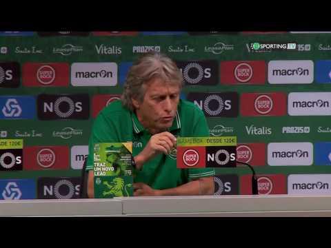 Conferência Jorge Jesus - Sporting CP X Moreirense