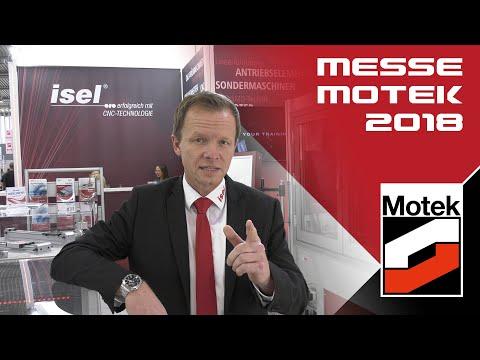 isel Germany AG: Messe MOTEK 2018 - Messevideo