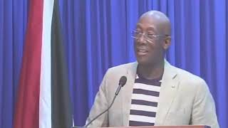Prime Minister, Dr. Keith Rowley's Press Conference - Saturday 20th June 2020