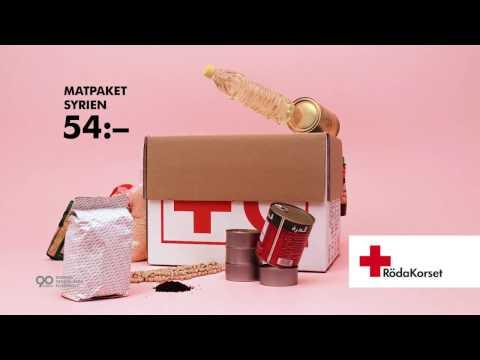 Röda Korset –  Matpaket Syrien 54 kr