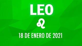 ? Horoscopo De Hoy Leo - 18 de Enero de 2021