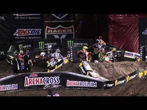 Arenacross -  Saturday Race Highlights from the Cedar Park Center in Cedar Park, Texas 2012