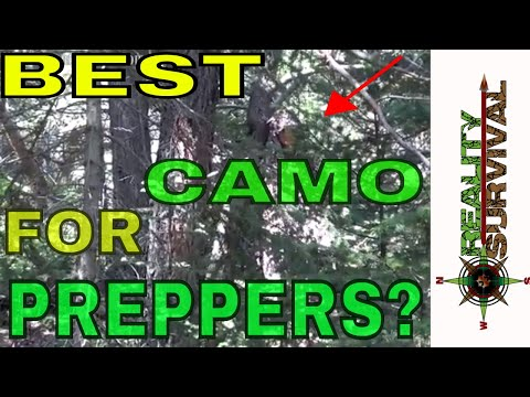 The Best Camo For Preppers and Hunters!