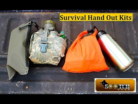 """10 Items for a """"Hand Out"""" Survival Kit"""