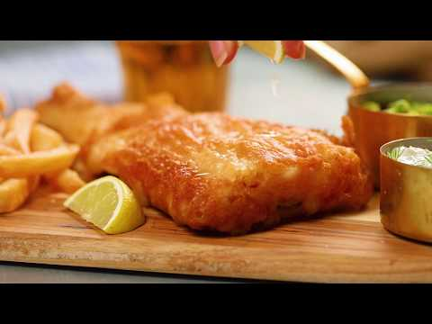 The British Are Cooking! An Easy and Authentic Fish & Chips Recipe | Tastemade