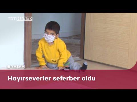 Cam kemik hastası çocuğun hayallerini TRT Haber izleyenleri gerçekleştirdi