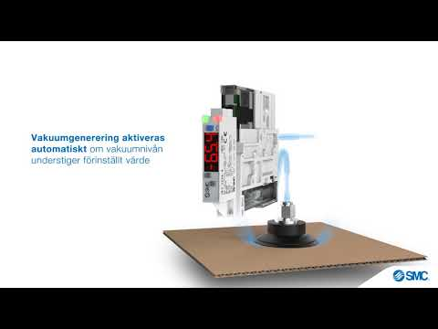 SMC:s vakuumenhet ZK2