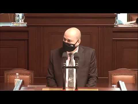 Ondřej Polanský k novele zákona o urychlení výstavby dopravní, vodní a energetické infrastruktury.