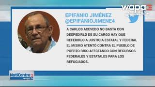 Exdirector de Manejo de Emergencias pide referir a Carlos Acevedo a Justicia