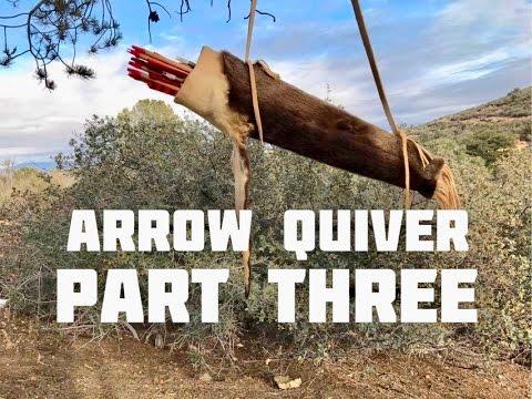 Otter Pelt Arrow Quiver (Part 3 of 4)