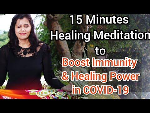 Healing Meditation for protection from Corona Virus   Boost Immunity & Healing during Covid-19
