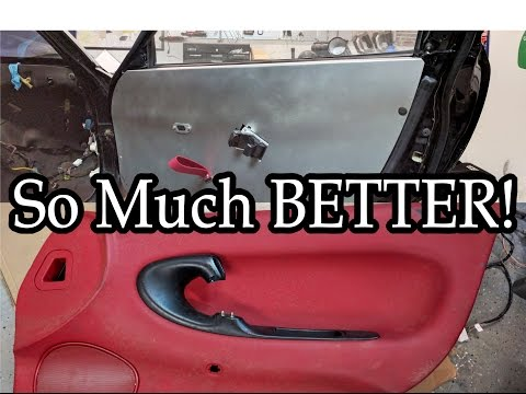 FD RX7 Custom Door Card Install - w/ Coupon Code - Wide Body V8 FD RX7 Build Video Series 23