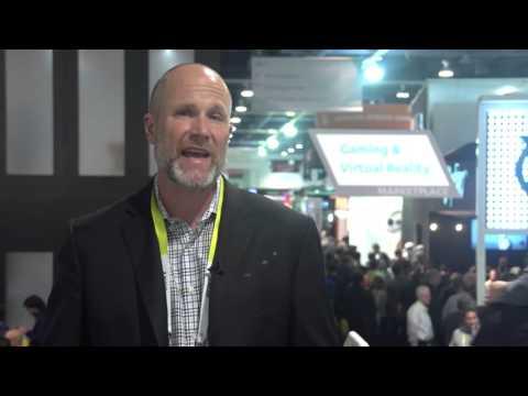 Duncan Stewart presenterar Deloittes TMT Predictions 2016 den 8 mars på Handelshögskolan i Stockholm