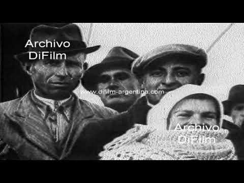 Hotel de inmigrantes en Buenos Aires - Fotos historicas 1998