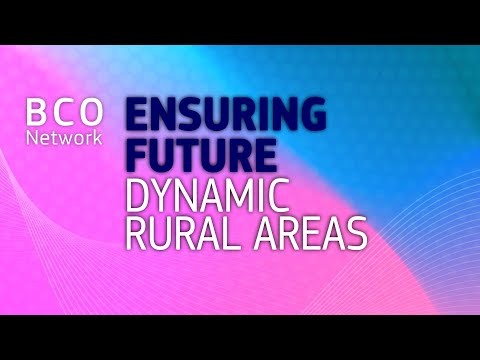 Ensuring future dynamic rural areas - the BCO Network at the '19 European Week of Regions and Cities photo