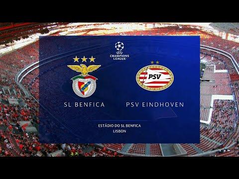 UEFA Champions League   Benfica v PSV   Highlights
