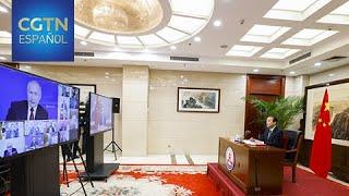 Putin afirma que las relaciones bilaterales entre Rusia y China están al máximo nivel