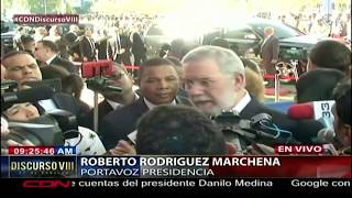 Roberto Rodríguez Marchena asegura no se tiene temor por manifestaciones de artistas