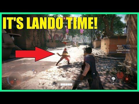 Star Wars Battlefront 2 - Is Lando good for Galactic assault? | Nice Lando killstreak!