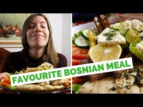 Our favorite Bosnian Food in Mostar, Bosnia and Herzegovina at Ćevabdžinica Tima-Irma