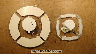 Fixing two dead LED bulkhead style lights.