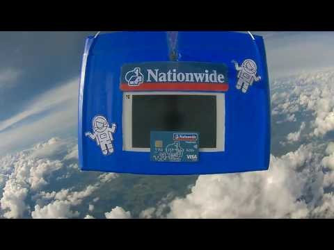 Payment on the Edge of Space | Nationwide Building Society