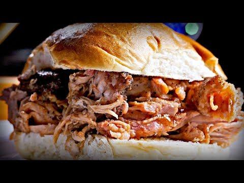 Роскошный НОВОГОДНИЙ кусок мяса ? Рецепт разрывной свинины  ? smoked breaking pork