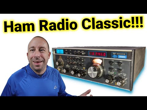 Classic Ham Radio: Drake TR7 Cleanup | Filter Mod | Fan Replacement